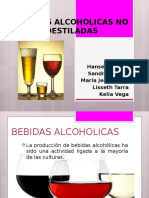 Bebidas Alcoholicas No Destiladas