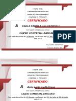 Contabilidad y Negocios Certificado