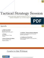 Tactical Strategy Session July 18th