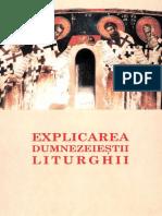 Explicarea Sfintei Liturghii [Stefanos Anagnostopoulos]
