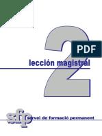 Servei de Formacio Permanent (Sf) Lección Magistral