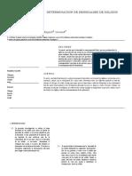 Informe de Quimica Densidad Solidos