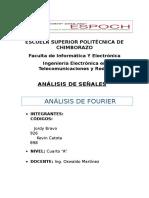 Analisis de Fourier.