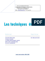 Techniques d'AUDIT 1