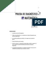 Diagnostico Marzo Matematica 6basico 2014