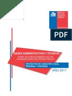 Bases y Anexos Fondo de Fortalecimiento 2017 VF