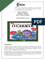 Projeto Sarau 2017 - O Caracol
