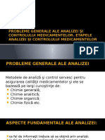 etapele analizei