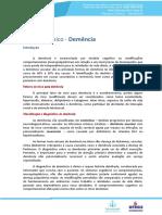 Neurologia Resumo Demencia TSRS