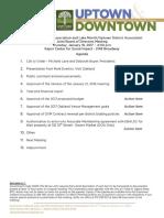 Joint Board January 18, 2017 Agenda Packet