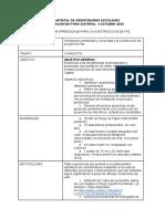 Orientación Vocacional y Profesional.foro Educativo Distrital 2016