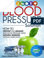 Blood Pressure Solution_ How To Prevent And Manage High  Natural Remedies Without Medication - Roberts RN, Kasia.epub