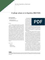 Pedroni - El Paisaje Urbano en La Argentina (1864-1920)