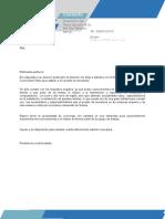 Carta de Presentacion 6