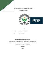 Mini Research Report