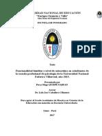 Tesis de maestría por  Percy Hugo Quispe Farfan