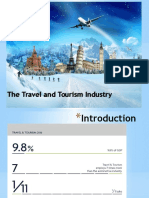 travel and tourism industry