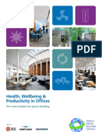 Health Wellbeing and Productivity in Offices -The Next Chapter for Green Building