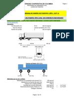 Calculo de Diseño de Puente en Concreto Tipo Losa CCP-2014