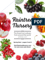 2017 Raintree Nursery Catalog Spring