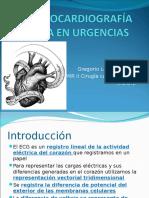 Electrocardiografia Basica en Urgencias