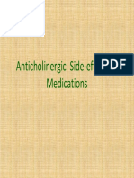 Anticholinergic Side Effects