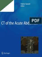 001 CT of the Acute Abdomen - Taourel (2011)