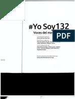 #YoSoy132 Voces del movimiento de Gloria Muñoz Ramírez
