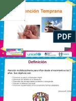 Intervenciones Tempranas Unicef 2012 Definitivacon Audio Nueva