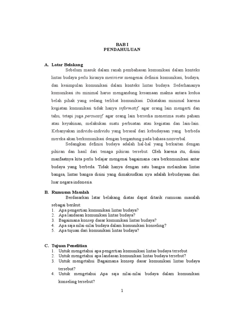 Makalah 2 Komunikasi Dalam Konseling Lintas Budaya