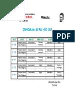 Cronograma de PCS