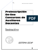 InstructivoParaAspirantes Sistema SICAP