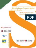 America Latin a Enla Crisis Global