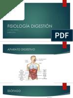 FISIOLOGÍA DIGESTIÓN
