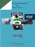 Básico de Transmisiones Para Policía Local