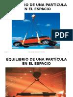 4-EQUILIBRIO-DE-UNA-PARTÍCULA-EN-EL-ESPACIO.pptx