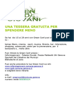 Brochure Green Card Sett 2014