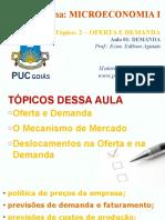 Puc - Microeconomia - 2017.1 - 02 - Basico Sobre Oferta e Demanda