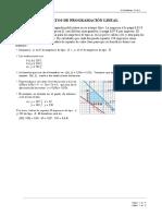 Ejercicio de programacion lineal