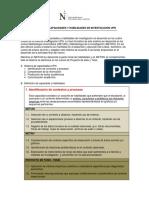 Sistema de Capacidades y Habilidades de Investigación UPN Fcl