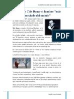 Microsoft Word - La Vida de Chis Dancy El Hombre mas conectado - Jennifer Franco