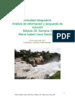 Loera Sanchez_Maria Isabel_M20S3 Analisis y Propuesta de Solución