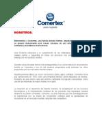 Historia Comertex