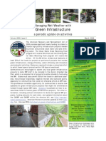 Managing Wet Weather with Green Infrastructure, March 2009 Bulletin