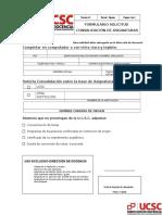 Convalidacion Formulario Solicitud de Convalidacion