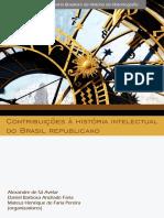 AVELAR, A_ FARIA, D_ PEREIRA, M. Contribuições à história intelectual do Brasil republicano.pdf