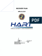 Oahu Rail Project Recovery Plan