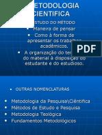 Metodologia Aula 01
