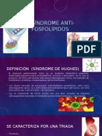 Síndrome Anti Fosfolípidos