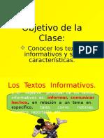 Texto Informativo 2º Quinto